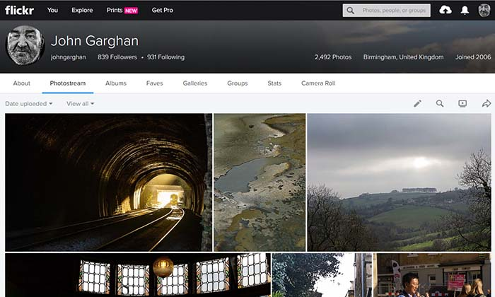 John Garghan Flickr Site